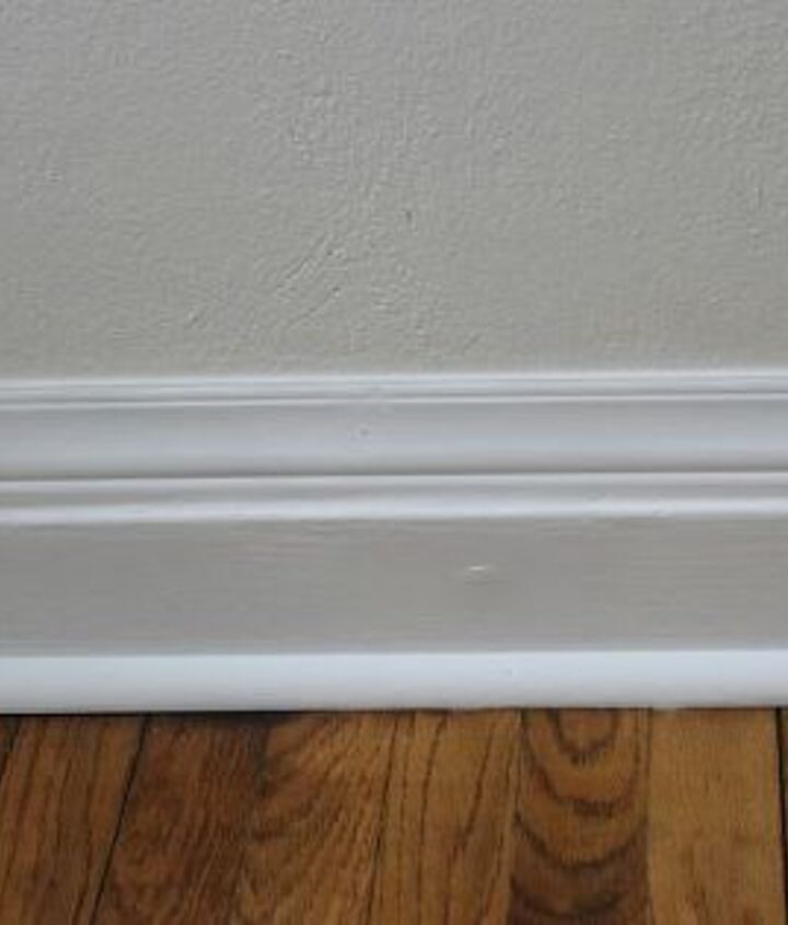 add height to your short baseboards cheaply, wall decor, woodworking projects