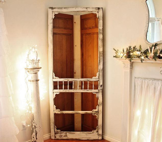Screen Door Corner Cabinet Bedroom Ideas Doors Home Decor Kitchen Cabinets
