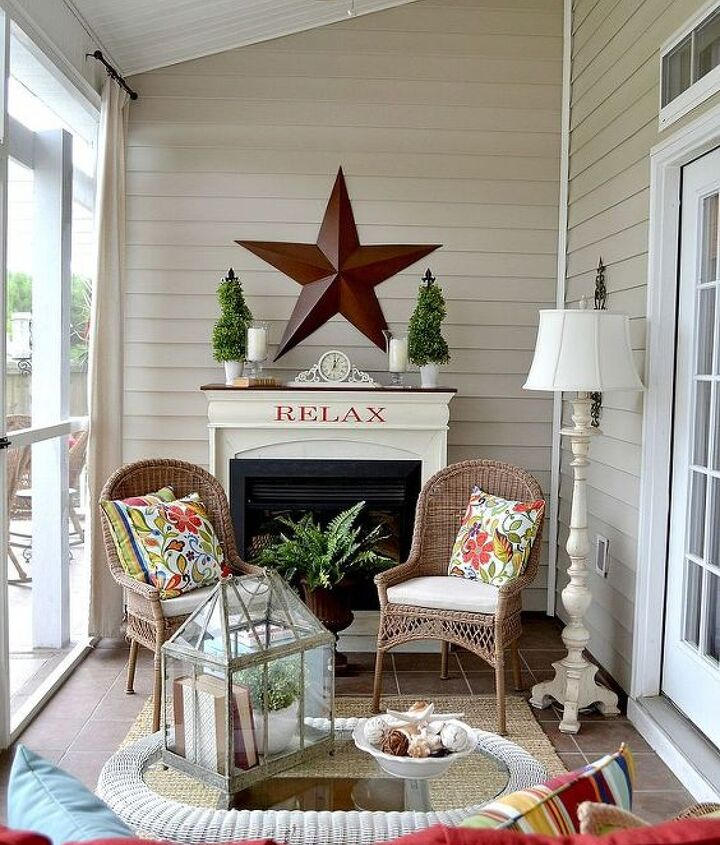 Welcome to our summer porch!