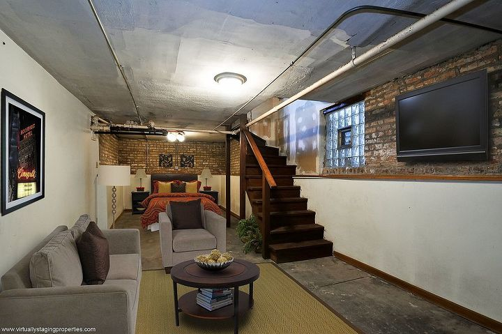 inspiring decorating ideas for the basement virtually staged photos, basement ideas, Virtually Staged photo provided by VSP