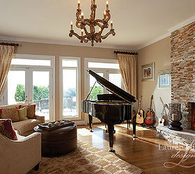 Captivating Living Piano Room, Fireplaces Mantels, Home Decor, Living Room Ideas, I  Selected