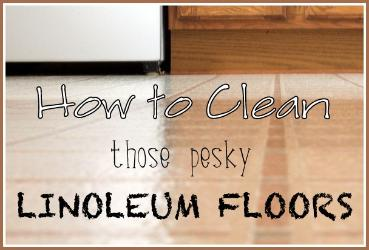 How To Clean Linoleum Floors Hometalk - Easiest way to clean linoleum floors