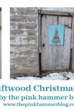 driftwood christmas tree beach themed christmas diy tutorial, crafts, seasonal holiday decor