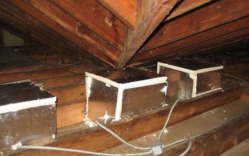 critter damage and repairs, home maintenance repairs, how to, pest control, Once cleaned up we contstructed foam boxes to cover every high hat light to allow insulation to be placed directly onto the boxes instead of allowing them to be buried unsafely with the blown in fiberglass I used