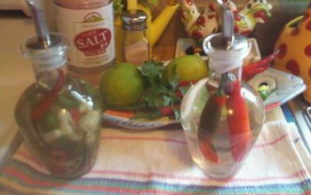 vinager w peppers from my garden, gardening