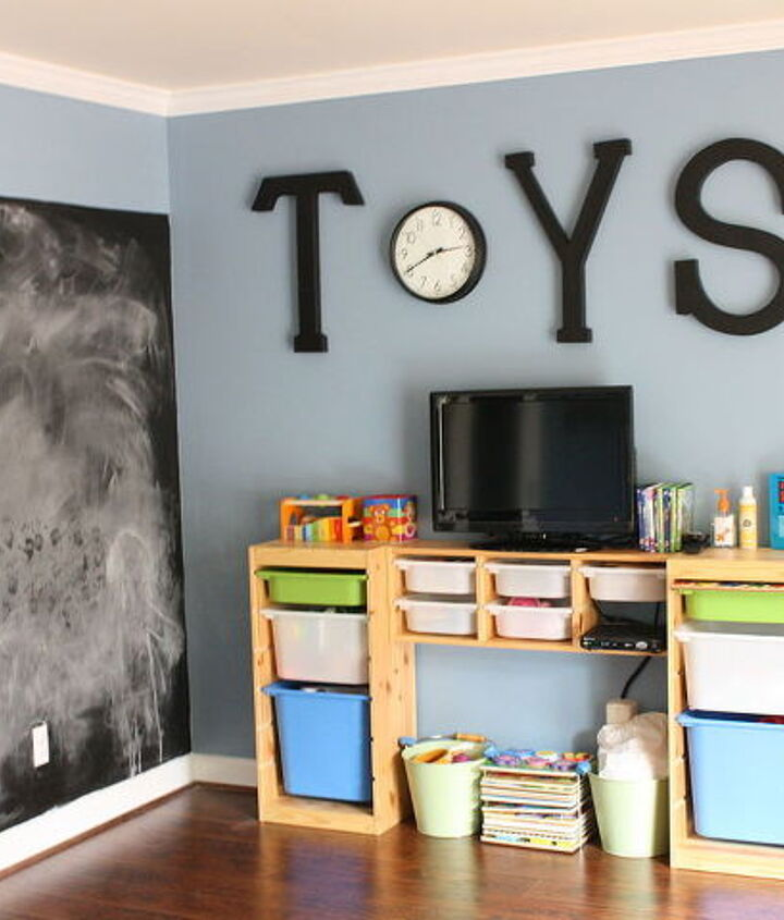 an inspired ikea playroom, entertainment rec rooms, home decor