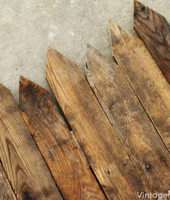diy wood pallet mini picket fence, diy, fences, pallet, woodworking projects