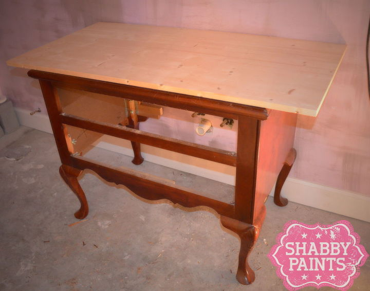 repurpose a piece of furniture into a sink, painted furniture, repurposing upcycling