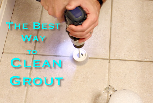 The Best Way to Clean Grout-EVER!!! | Hometalk
