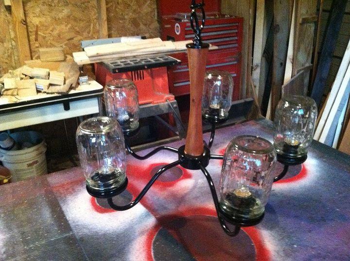 mason jar light, diy, how to, lighting, mason jars, repurposing upcycling