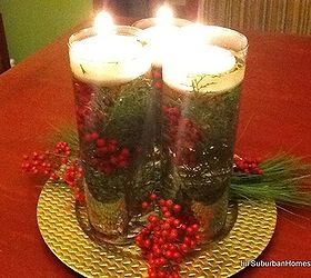 Make This Evergreen Christmas Centerpiece #HomeForChristmas | Hometalk