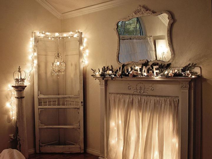 screen door corner cabinet, bedroom ideas, doors, home decor, kitchen cabinets, night shot