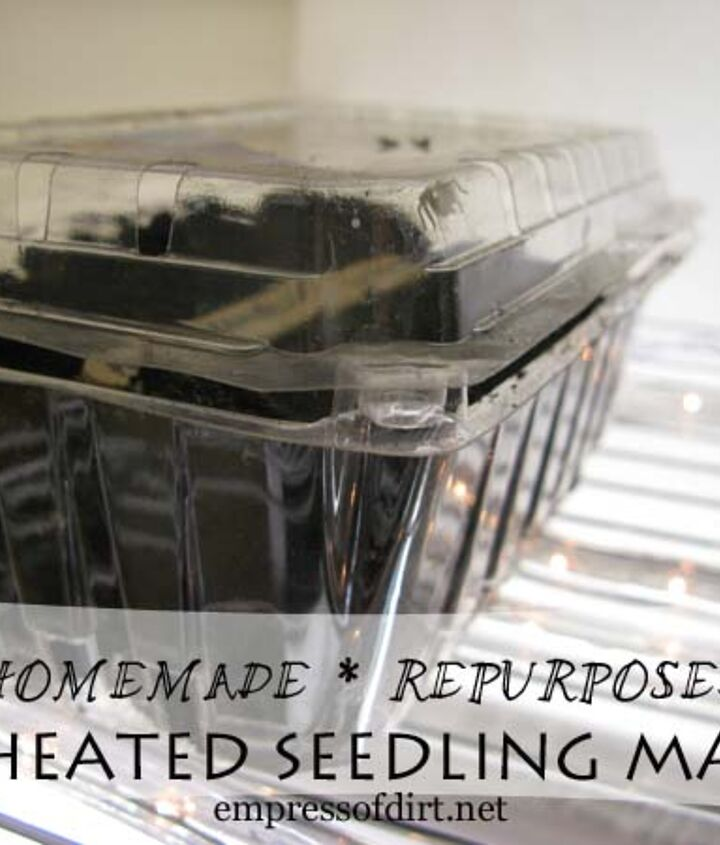 A frugal, homemade alternative to good (but expensive) seedling heating mats.