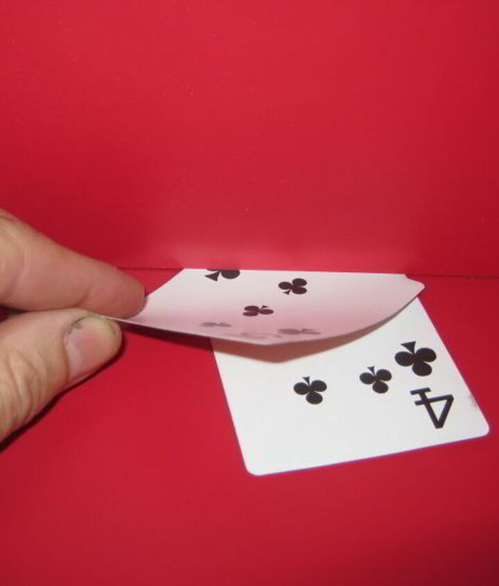 pry bars are handy but can do damage a card trick can help, home maintenance repairs, tools
