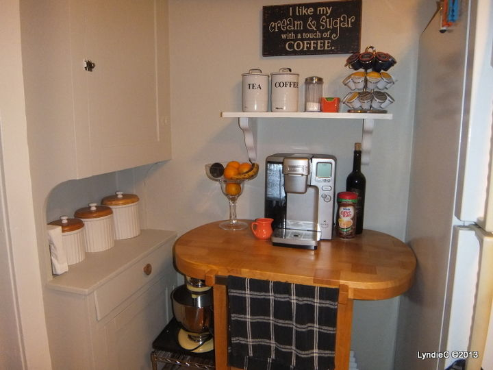 "Our ""Coffee Center"""
