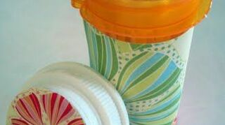 q prescription bottles, crafts, home decor, painting, repurposing upcycling