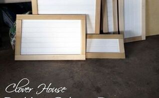 kitchen cabinet makeover part 3 building cabinet doors, diy, how to, kitchen cabinets, kitchen design, Lots of shaker style doors with bead board inserts