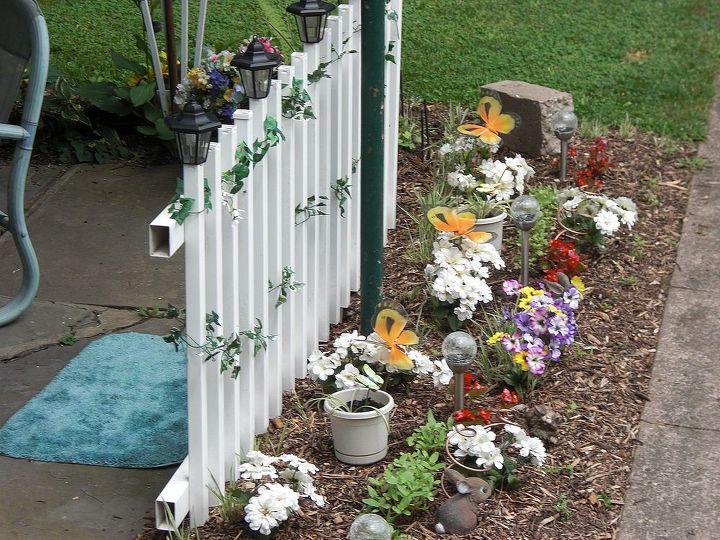 broken fence creates privacy, fences, outdoor living