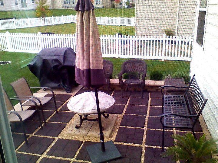 My $500 patio