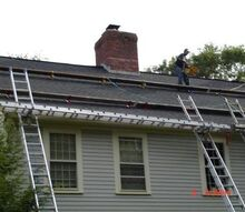 winter is on the horizon so don t try these diy roof repairs at home, curb appeal, home maintenance repairs, roofing