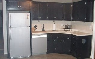 kitchen remodel the first e model with paint and hardware, diy, kitchen design, painting, Kitchen After View 1
