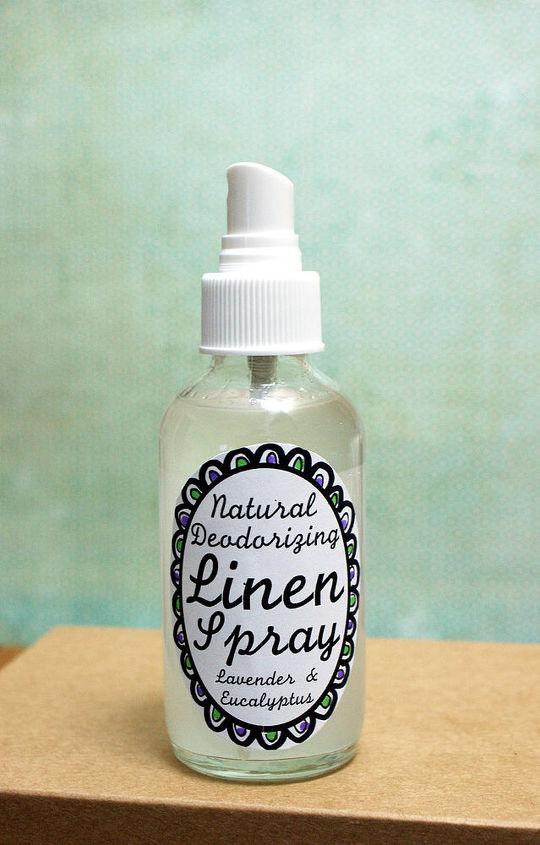 Natural Deodorizing Homemade Lavender Linen Spray Recipe