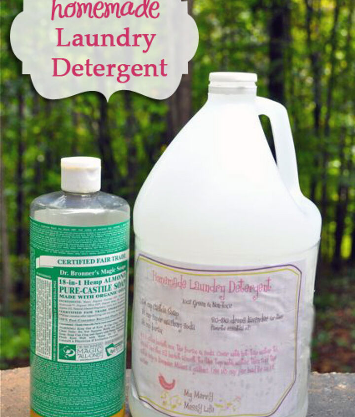 Homemade Laundry Detergent Recipe with Free Printable
