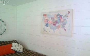 updating a manufactured home, home decor, Cut plywood wall planks and bright white paint has refreshed this space