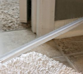 How To Clean The Plastic Strip At The Bottom Of A Glass Shower Door,  Bathroom