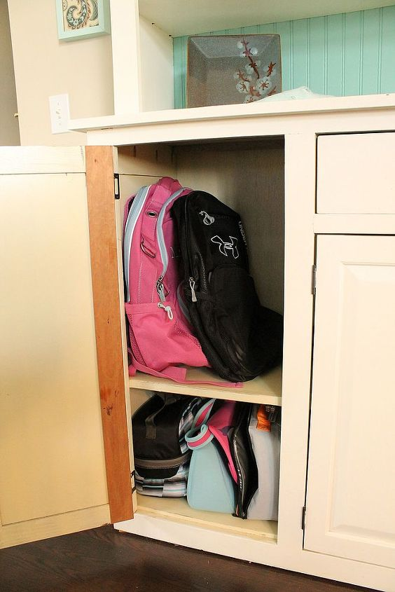 Because our house is so small having them in closed storage is a great way to minimize visual clutter.
