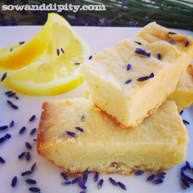 Lavender and Lemon Shortbread is made with a pre-made shortbread mix, it doesn't get any easier than this: http://www.sowanddipity.com/lavender-lemon-shortbread/