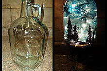 starry night light, christmas decorations, crafts, lighting, seasonal holiday decor