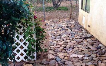 Rock walkway