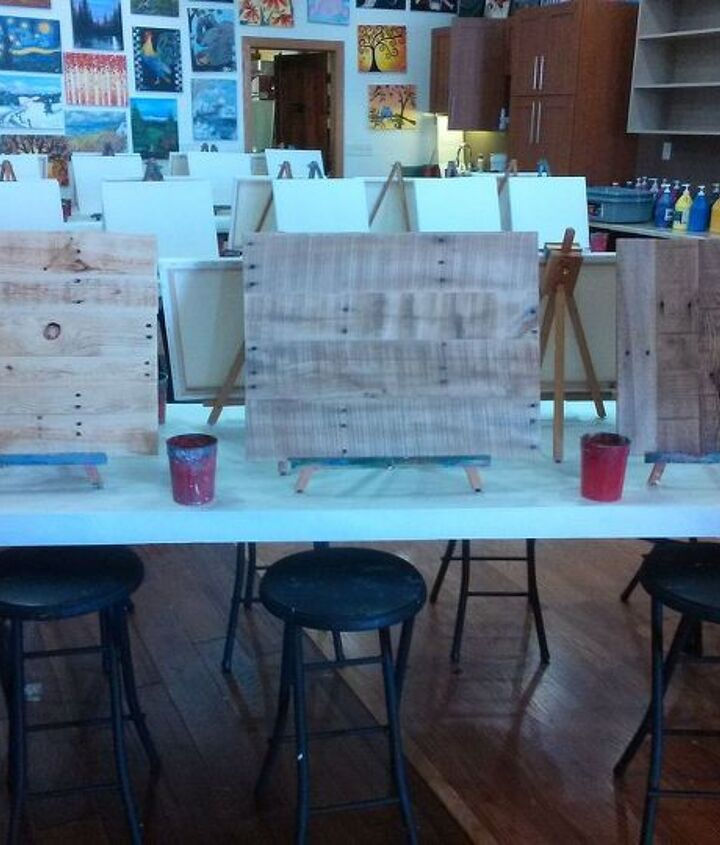 Paint your own pallet art without a hammer!!