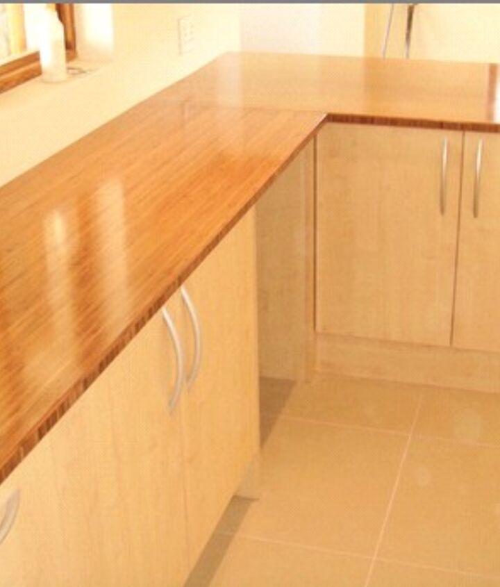 bamboo countertops, countertops