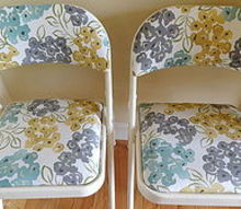 extra pretty easter seating, easter decorations, painted furniture, seasonal holiday decor, reupholster