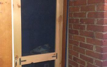Bedroom Screen Door