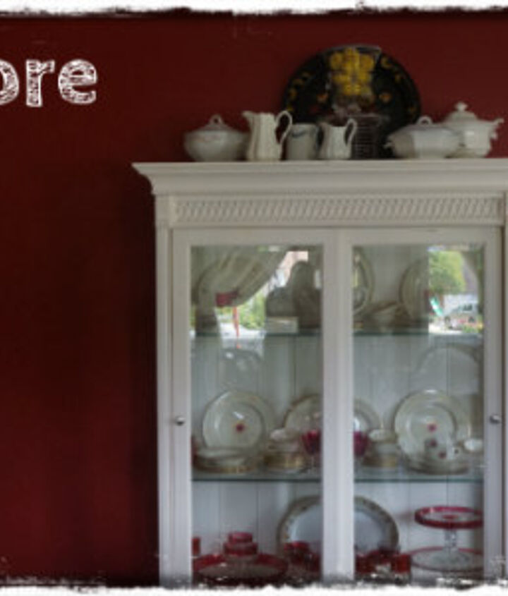 """My """"before"""" dining room....it's been red for about 10 years."""