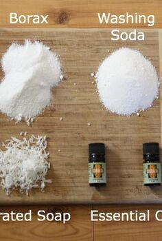 homemade laundry soap, cleaning tips, go green, Ingredients for your homemade soap It truly is simple
