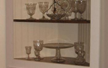 Homemade Corner Cabinet