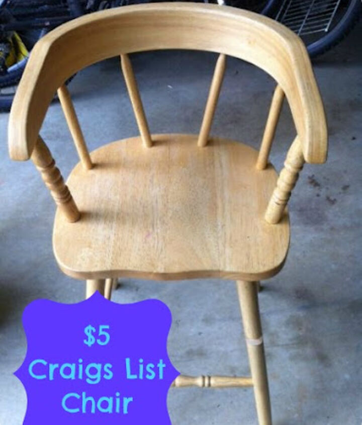 Unfinished chair