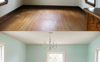 Painting Trim, a Before and After