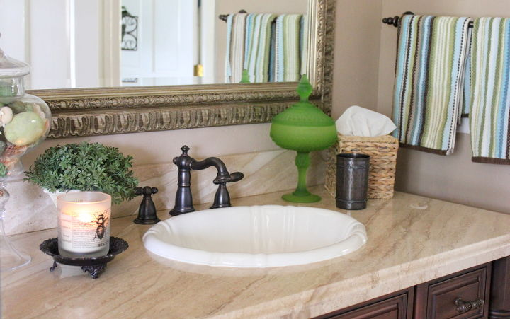 updated guest bath reveal, bathroom ideas, home decor