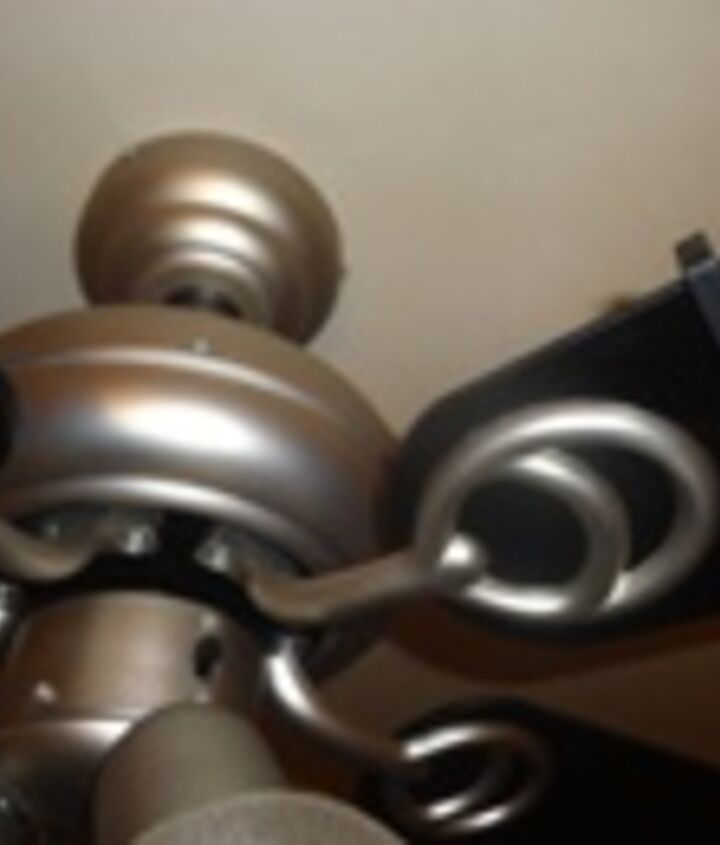 Balancing of New Fan May be Required b/c Ceiling is Never Level.