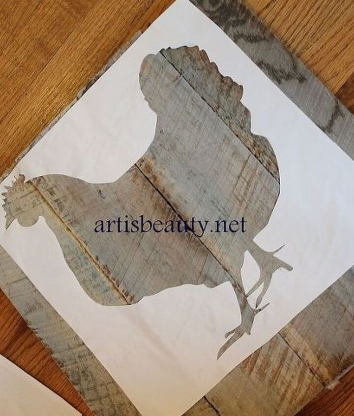 good morning my bawk i mean beauties head on over and see my latest pallet art for, crafts, pallet, repurposing upcycling