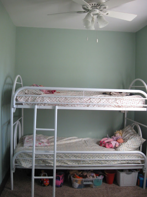 The new bunk bed room.