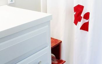 Sailcloth Shower Curtain How-to