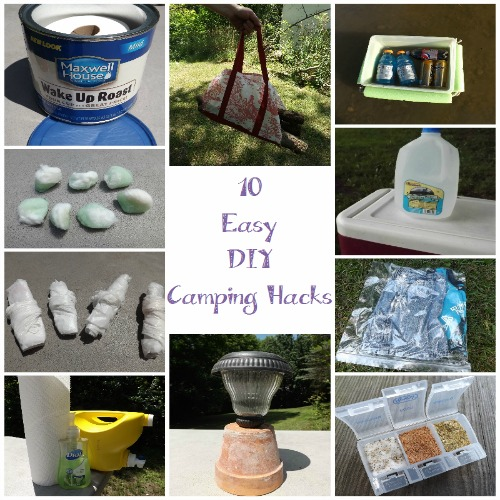 10 Easy DIY Camping Hacks from Pinterest