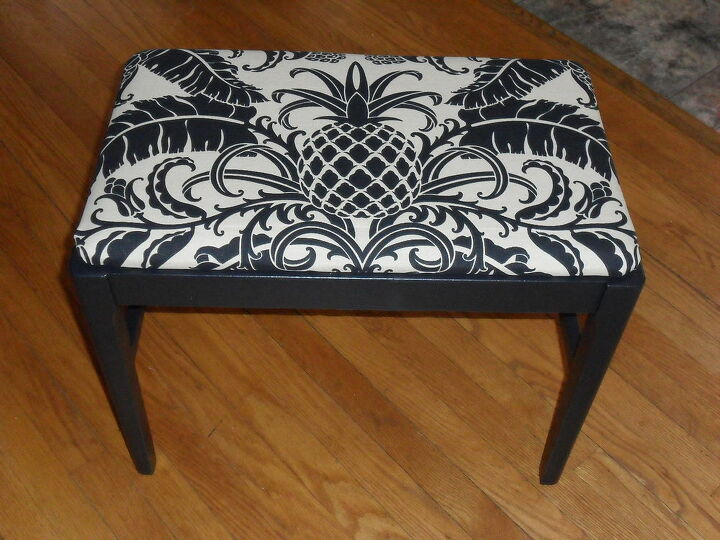 upgrading found items, painted furniture, weekend project