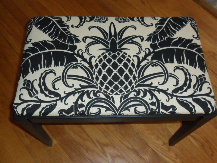 upgrading found items, painted furniture